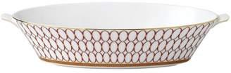 Wedgwood Renaissance Gold Oval Serving Bowl