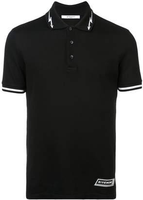Givenchy logo print polo shirt