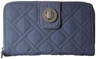 Vera Bradley Rfid Turnlock Wallet Wallet Handbags