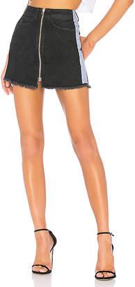 Marcelo Burlon County of Milan Cross Tape Skirt.