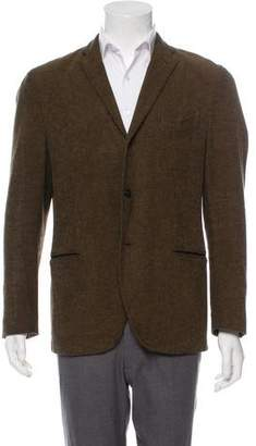 Boglioli Tweed Deconstructed Blazer