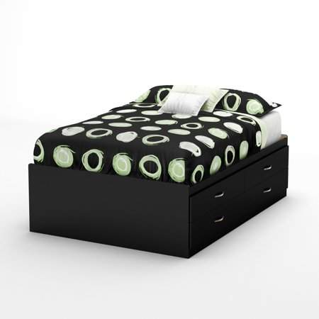 South Shore Furniture South Shore SoHo Full Captain Bed (54'') with 4 Drawers, Multiple Finishes
