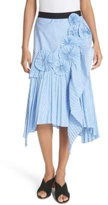 Joie Edericka Stripe A-Line Skirt
