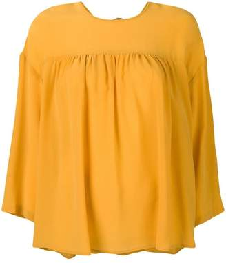 Semi-Couture Semicouture pleated detail blouse