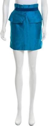 Matthew Williamson Linen & Silk Skirt