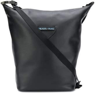 Prada bucket style shoulder bag