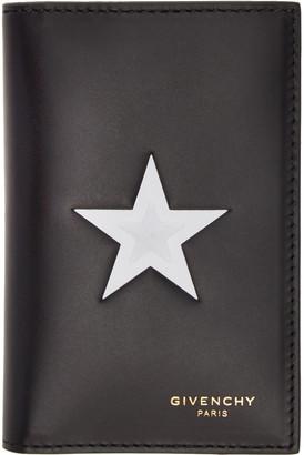 Givenchy Black Star Card Holder $475 thestylecure.com