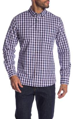 1901 Slim Fit Checkered Button Down Shirt