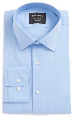 Nordstrom Traditional Fit Stretch Check Dress Shirt
