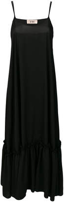 Gina ruffle detail maxi dress