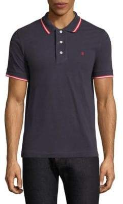Bally Contrast Striped Polo