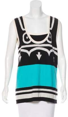 Chanel Cashmere Sleeveless Sweater w/ Tags