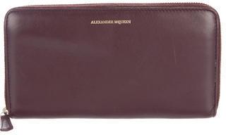 Alexander McQueenAlexander McQueen Leather Continental Wallet