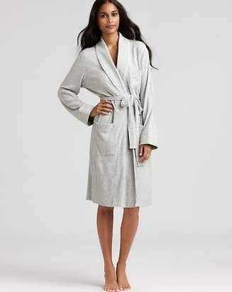 Ralph Lauren Quilted Collar & Cuffs Short Robe