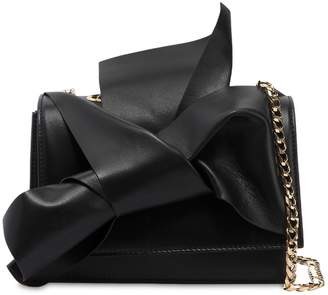 N°21 Small Bow Nappa Leather Shoulder Bag