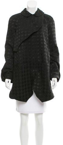 Balenciaga Balenciaga Houndstooth Short Coat