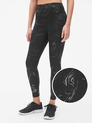 Gap GFast Blackout V-Waist Marble Print Leggings