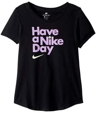 Nike Kids Sportswear Have A Girl's T Shirt