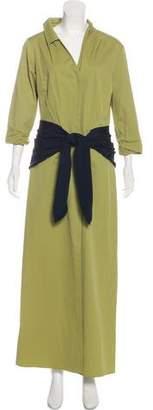 Hellessy Long Sleeve Maxi Dress