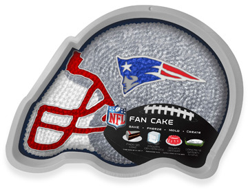 Bed Bath & Beyond Fan Cake NFL Silicone Cake Pan - New England Patriots