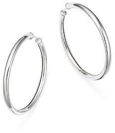 Bloomingdale's Sterling Silver Endless Tube Hoop Earrings - 100% Exclusive