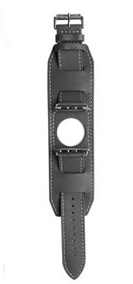 Mgear Leather Band for 42mMM Apple Watch - Gray