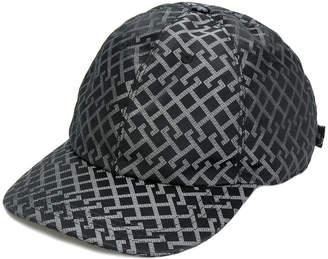 Versace Greek Key print baseball cap
