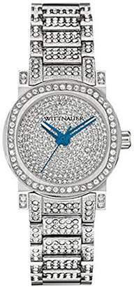 Wittnauer WN4003 Women's Watch Mini Crystal Accent Stainless Steel Bracelet