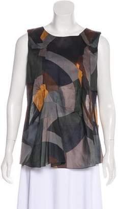Marni Sleeveless Printed Top