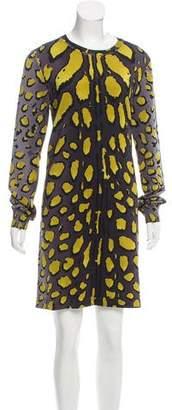 Louis Vuitton Silk Mini Dress