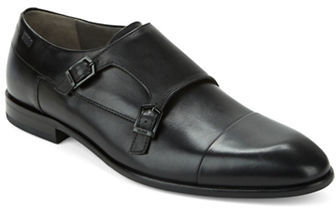 Hugo Boss Hugo Boss Dremok Leather Monk Shoes