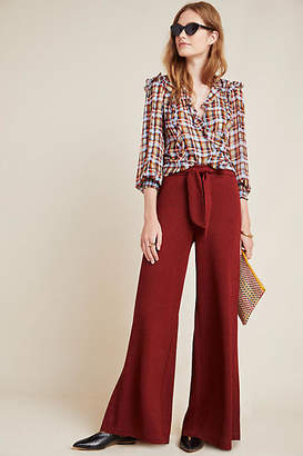 Anthropologie Sotheby Wide-Leg Pants