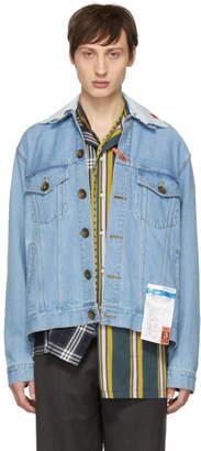 Miharayasuhiro Indigo Denim Jacket
