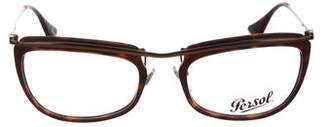 Persol Square Clear Eyeglasses