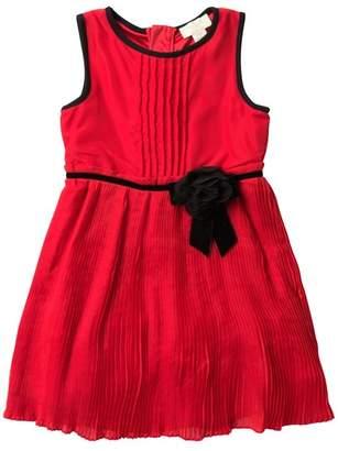 Kate Spade Pleated Chiffon Dress (Big Girls)