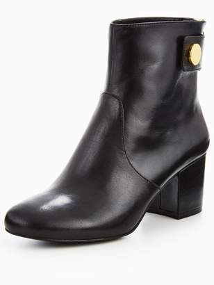 Nine West Quarryn Mid Heel Boot With Stud Detail