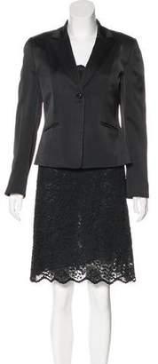 Tahari Knee-Length Lace Skirt Set