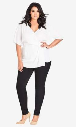 City Chic Highrise Skinny Regular Asha Jean