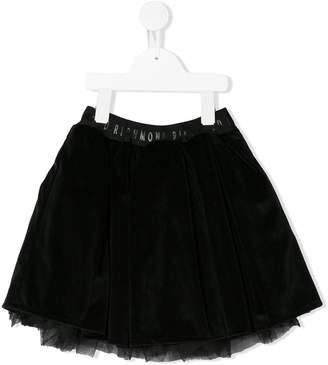 John Richmond Junior logo waist tutu skirt