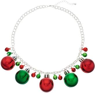 kohls christmas ornament statement necklace - Kohls Christmas Decorations
