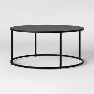 Project 62 Glasgow Round Metal Coffee Table Black - Project 62
