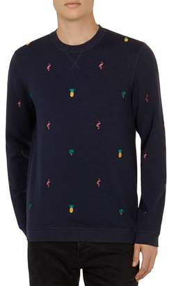 Ted Baker Troptop Embroidered Icon Sweatshirt
