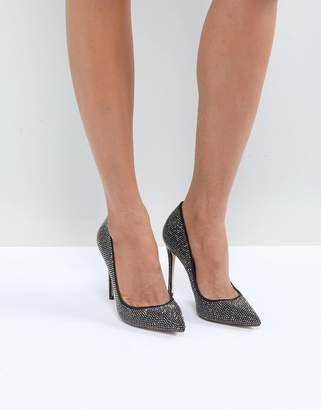 Aldo Nirema Crystal Stud Pointed Shoe