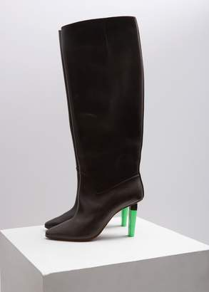 Vetements Social Worker Knee High Boots