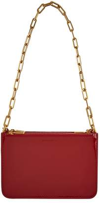 Burberry Patent Leather Cross Body Bag