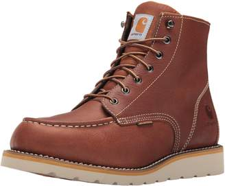 Carhartt CMW6175 Men's 6-Inch Waterproof Wedge Boot Soft Toe Work