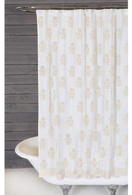 Pom Pom at Home Bahaar Cotton Shower Curtain