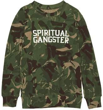Spiritual Gangster Varsity Camo Crew
