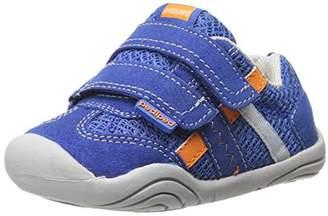 pediped Boys' Gehrig Trainers, Blue (Night Blue Orange), Child 3.5 UK (19 EU)