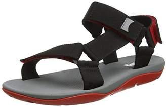Camper Men's Match Open Toe Sandals (Black 1), 42 EU